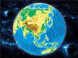 首部3D中国地图出版裸眼可见其效果