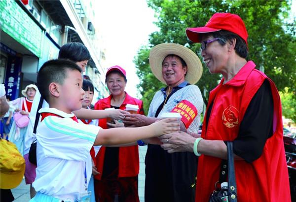县实验小学暑期社会实践活动
