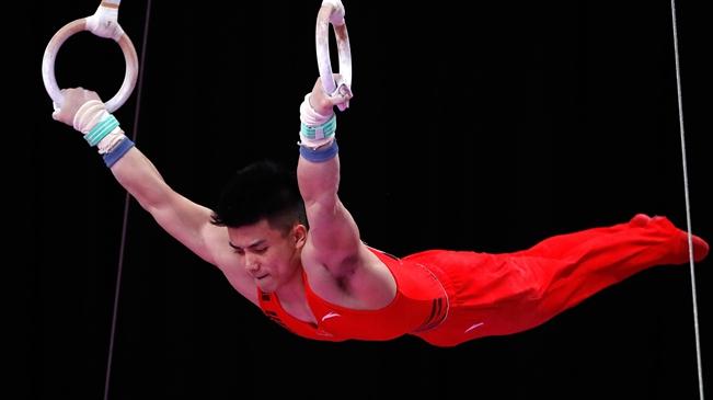 亚运会――林超攀获男子个人全能金牌