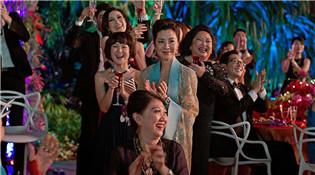 亚裔主演影片《摘金奇缘》登顶北美周末票房榜