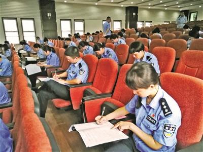 临海市公安局举办户籍岗位业务技能大比武