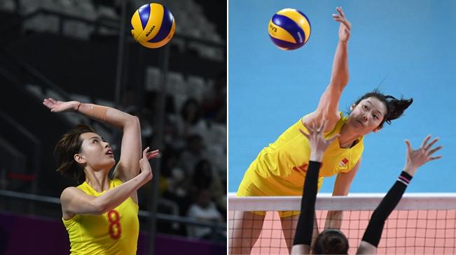 亚运会女排小组赛:中国队3-0胜韩国队