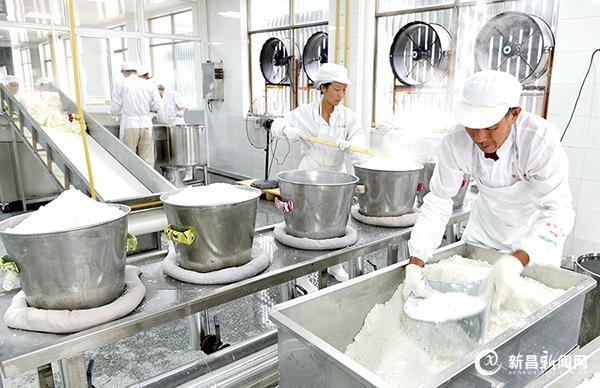 标准化年糕生产基地即将投运