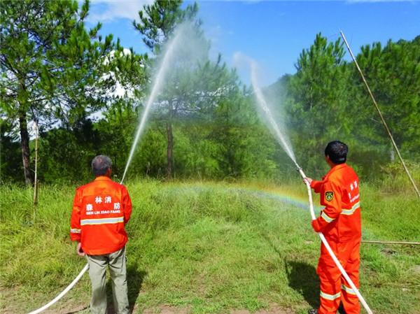 森林消防演练
