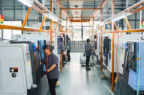 三田产业园项目(一期)开始试生产