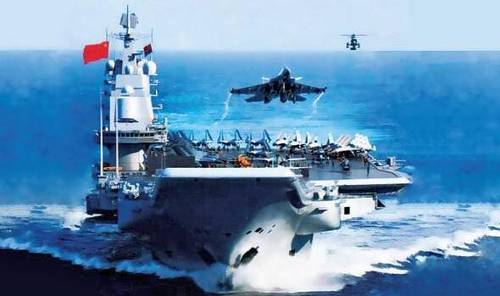 中国第二艘航母近日海试安全顺利