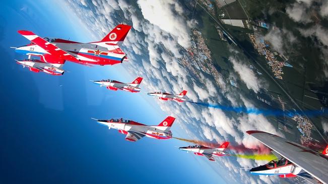 空军航空开放活动实战化演练砥砺新飞行学员制胜空天本领