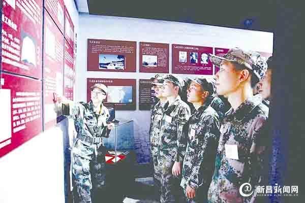 预定新兵接受服役前教育训练
