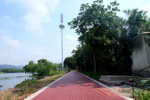 庆澜公园南侧游步道投用