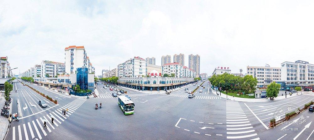 基础设施建设促文明城市创建