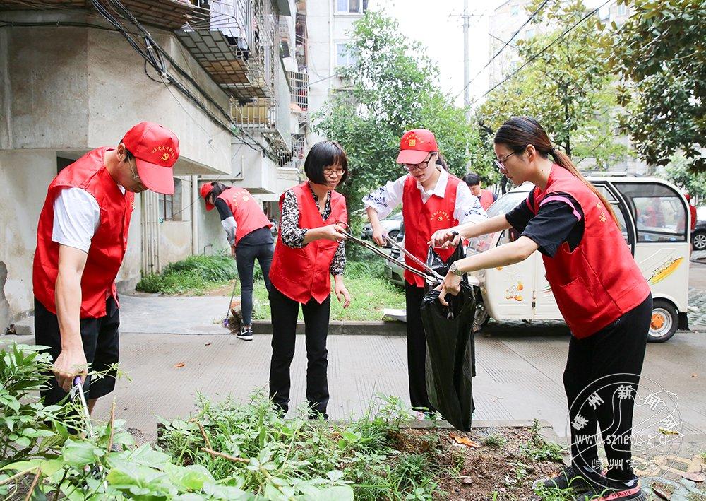 我市打造志愿服务品牌助力全国文明城市创建