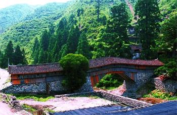 一桥一风景¦ò廊桥庆元¡ª¡ª黄水长桥