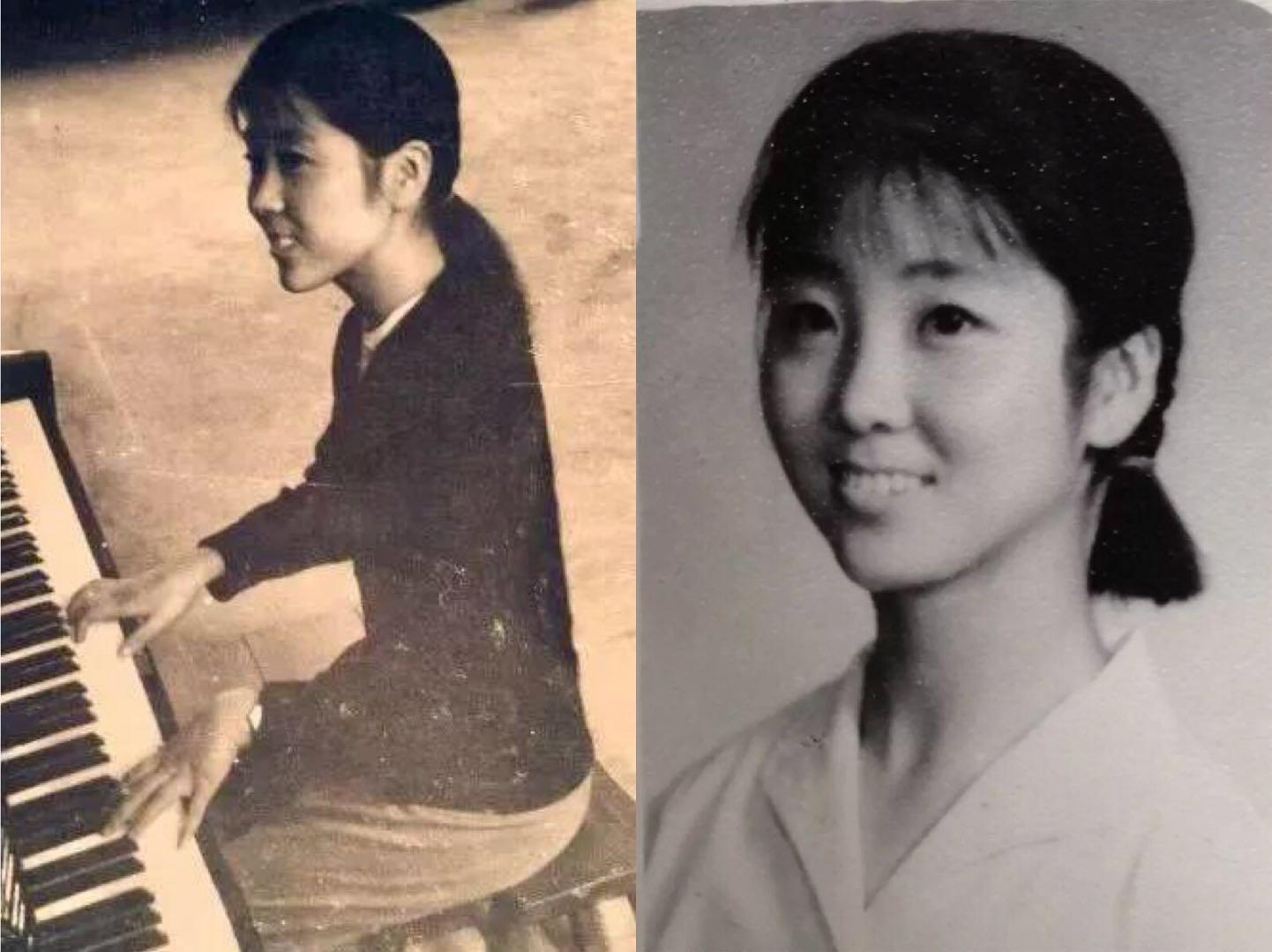 没受过严格的音乐专业训练,她竟敢在江山中学文艺班教音乐……