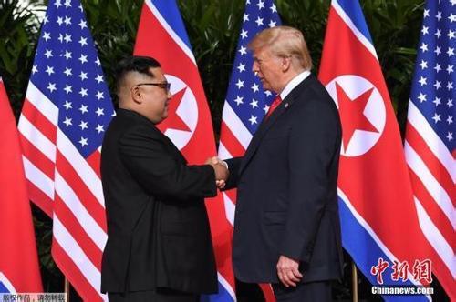 特朗普说或很快与金正恩举行会晤