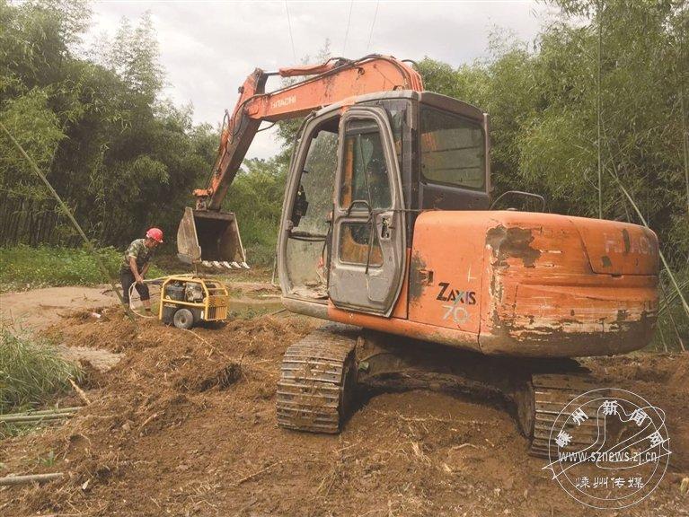水管爆裂 水务集团紧急抢修
