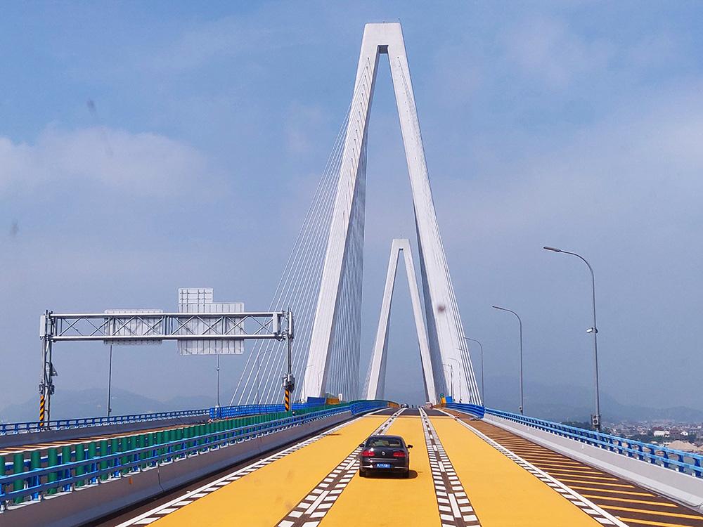 今天,换个角度看乐清湾大桥,惊艳到了吗?
