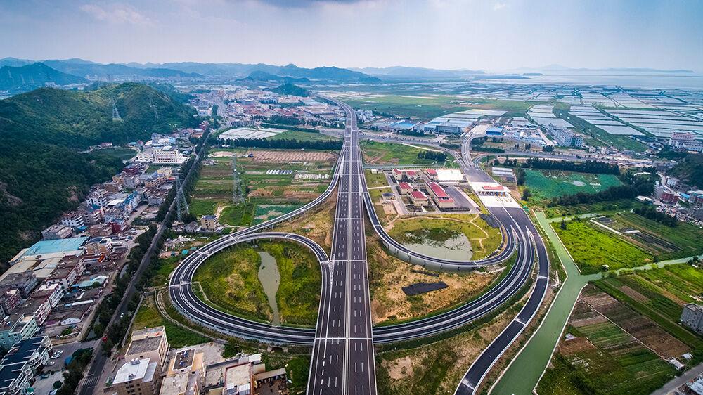 乐清湾大桥及连接线通车公告