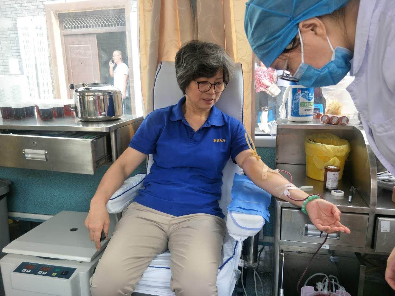 仙岩镇组织义务献血