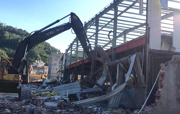 清港:老旧工业点累计拆违48万平方米,基本实现清零