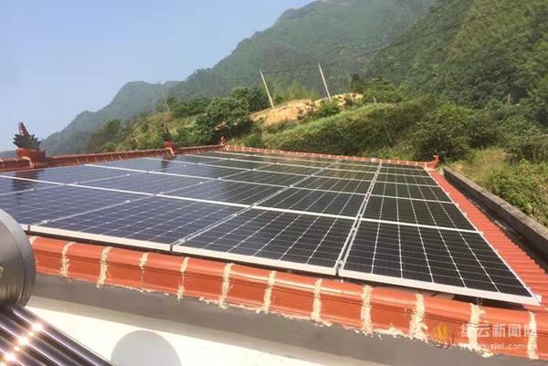 缙云县出台家庭屋顶光伏发电项目临时补助政策