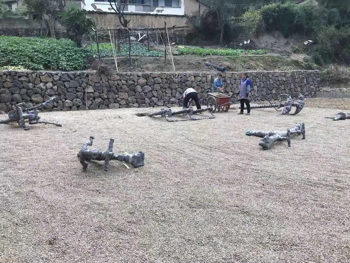 王树村增加健身设施