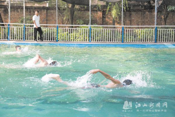 游泳项目选入校运会