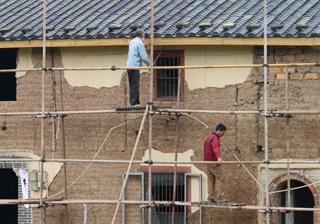 黄坛村精品村提升工程完成项目总体进度60%