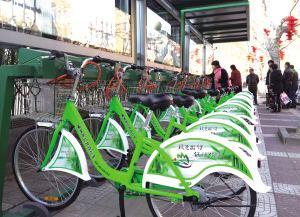 公共自行车租赁有点不方便