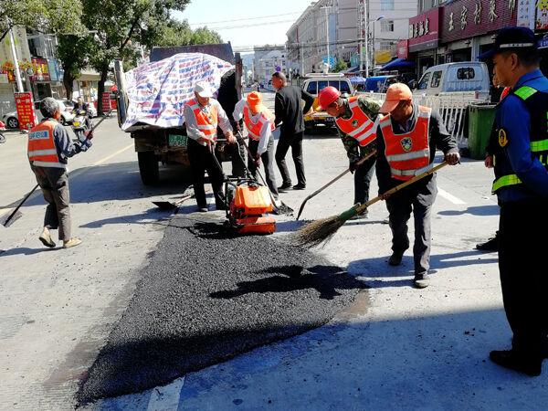 多伦多:修补坑洞保安全