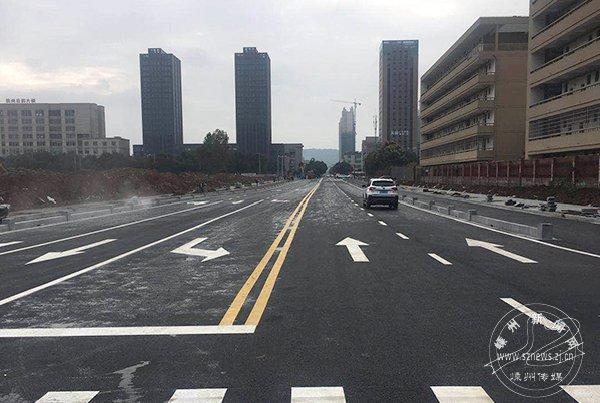 丹桂路今起全线通车