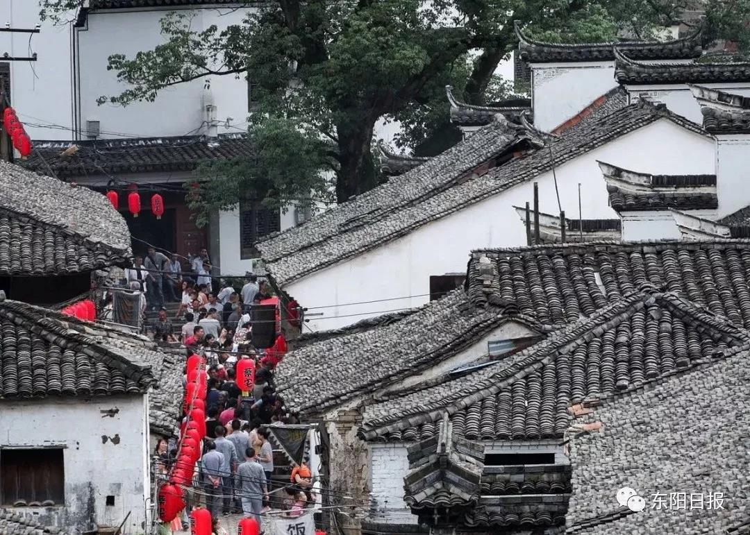 """特色文化让古宅""""活""""起来,带动东阳乡村旅游产业发展"""