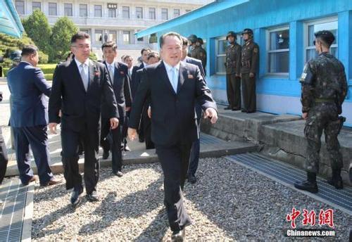 韩朝共同警备区将解除武装