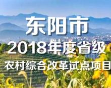 【专题】2018年度农村综合改革试点项目系列报道