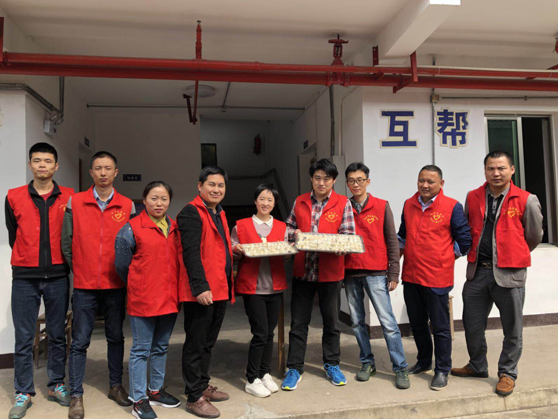 仙岩镇开展重阳节志愿服务活动