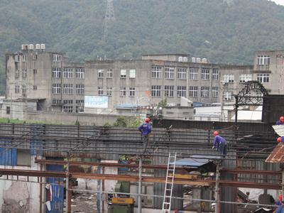 大麦屿:里墩老旧工业点全面启动拆违工作