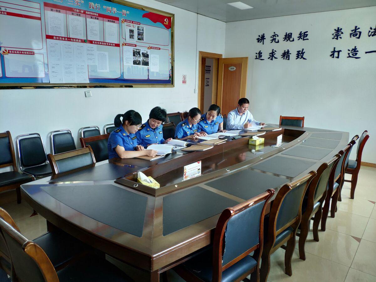 云和县综合行政执法局开展行政处罚案卷评...