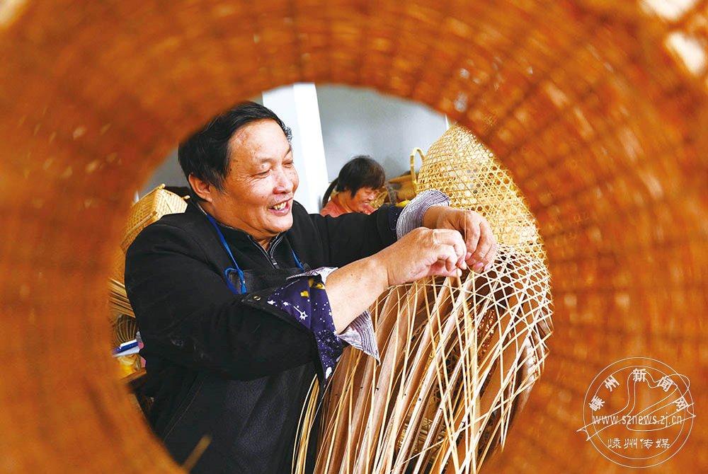 创新工艺竹编 赢得新市场