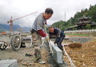 县大济中路项目有序推进