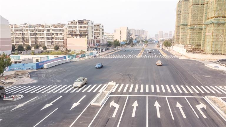 嵊州大道杨港路路口恢复交通