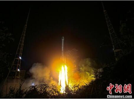 北斗三号系统首颗地球静止轨道卫星发射