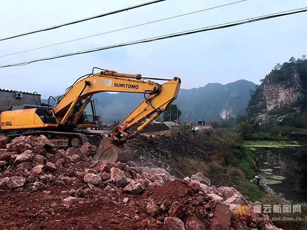 42省道缙云县城段控制性工程盘溪大桥正式开工