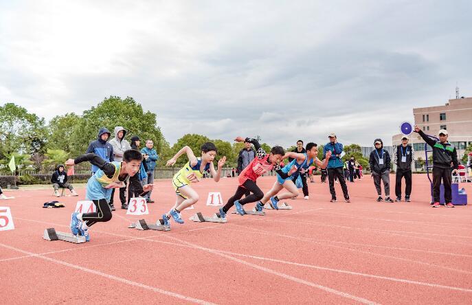 金东:第十八届中小学生田径运动会火热开场