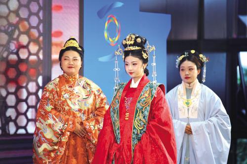 传统服饰亮相乌镇峰会