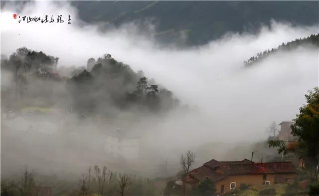 江山有个藏在深山中的仙境,周末可以去看看……