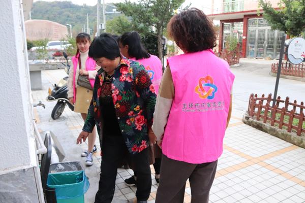 龙联村妇联开展大走访大调研活动 走村入户解难题