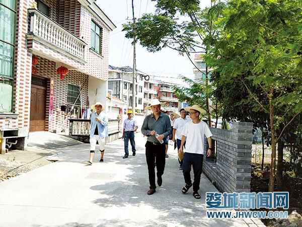 关于婺城区锦绣村落建立的几点提倡