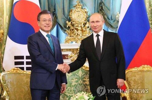 韩俄领导人会晤讨论对朝