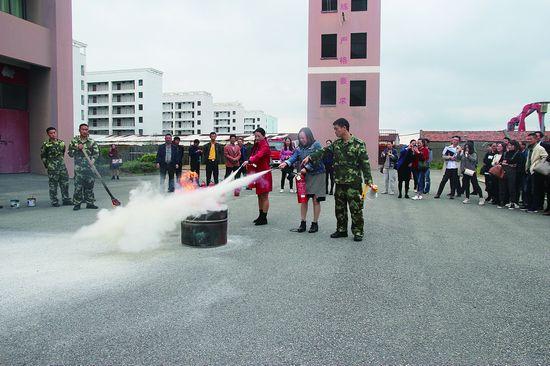 普陀社区微型消防站工作人员轮训 强技能做灭火达人