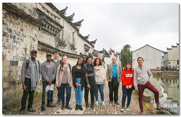 在乡村认识中国一群国际留学生的缙云之旅
