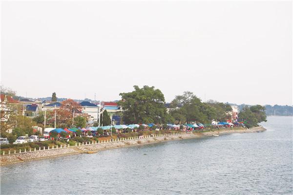 建设美丽新农村,传统集市变身美丽风景线